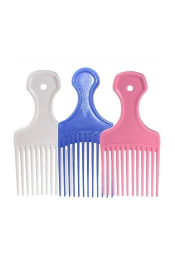 Coloured Afro Comb