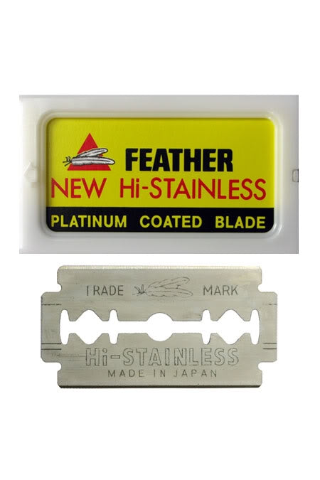 Feather Double-Edge Blades