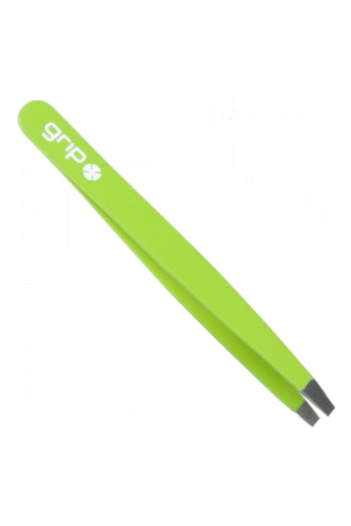 Caron Grip Straight Tweezer Matte Light Green