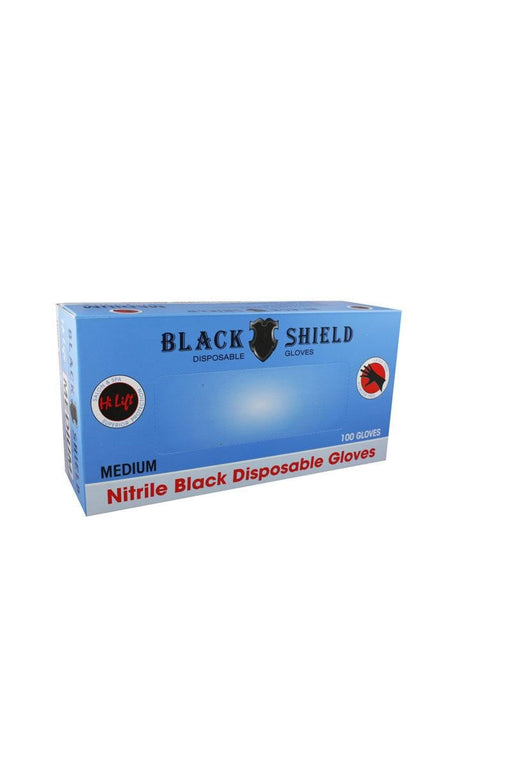 Hi Lift Black Shield Disposable Black Gloves