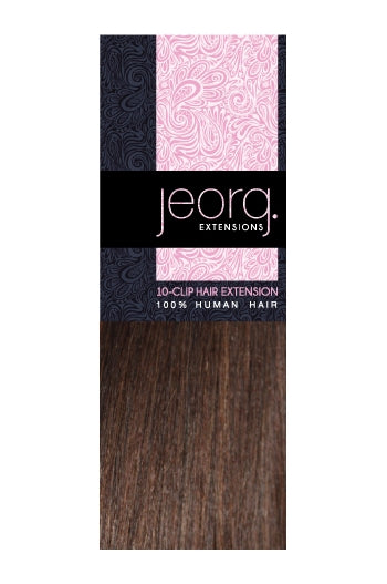 Jeorg. 10 Piece Clip In Human Hair 20 Inch