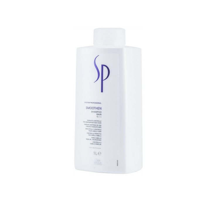 Wella SP Smoothen Shampoo Litre Promo