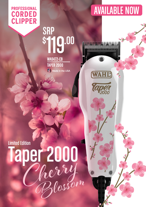 Wahl Limited Edition Cherry Blossom Taper 2000