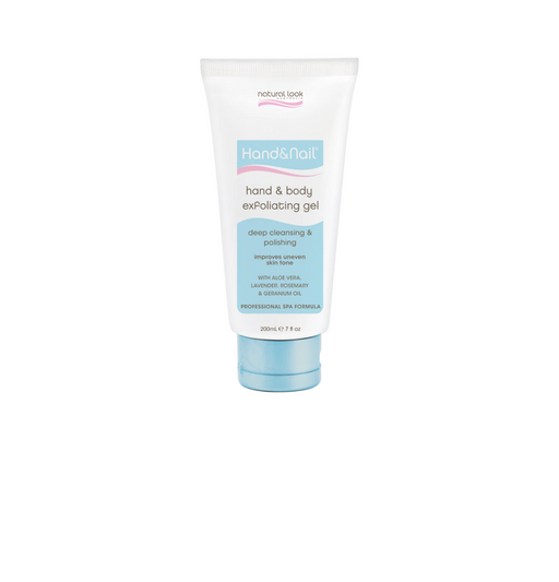 Natural Look Hand & Nail Exfoliating Gel
