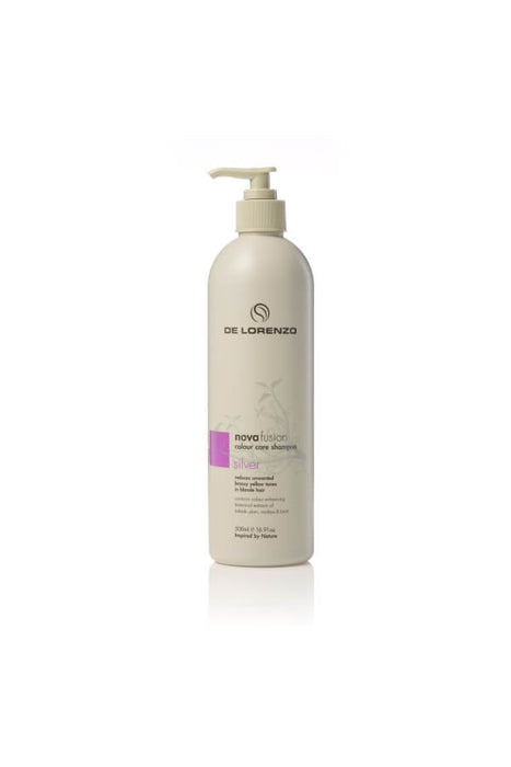 De Lorenzo Novafusion Colour Care Shampoo Silver 500ml