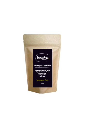 Raw Organic Coffee Scrub