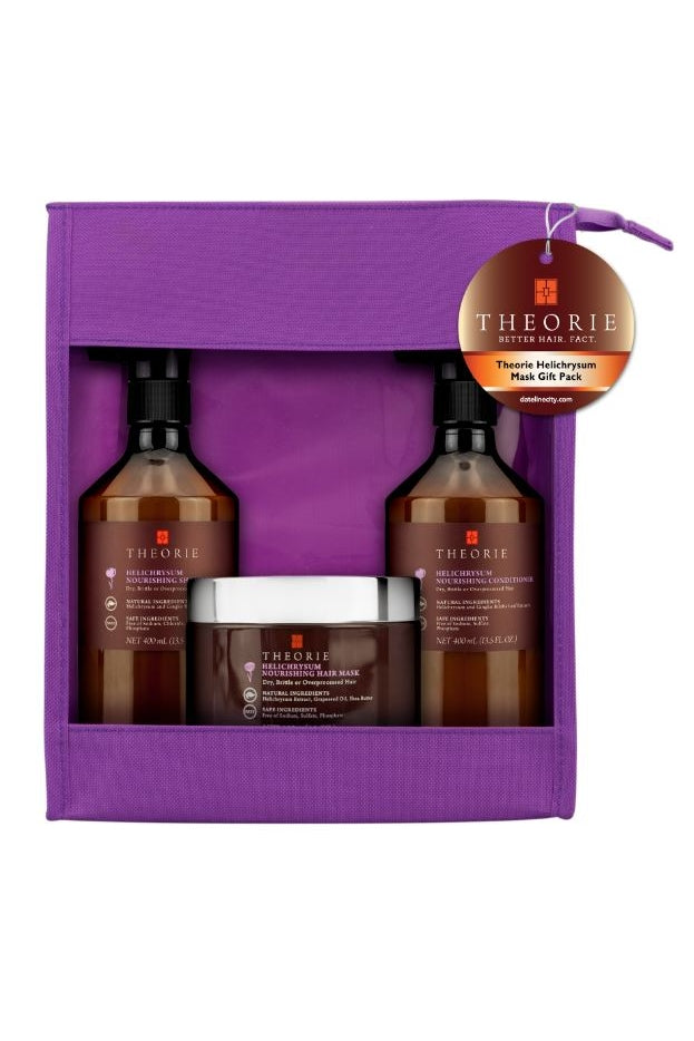 Theorie Helichrysum Nourishing Gift Pack with Mask