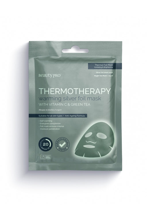 Beauty Pro Thermotherapy Warming Silver Foil Mask