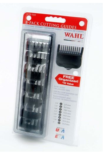 Wahl Black Plastic Attachment Combs Caddie