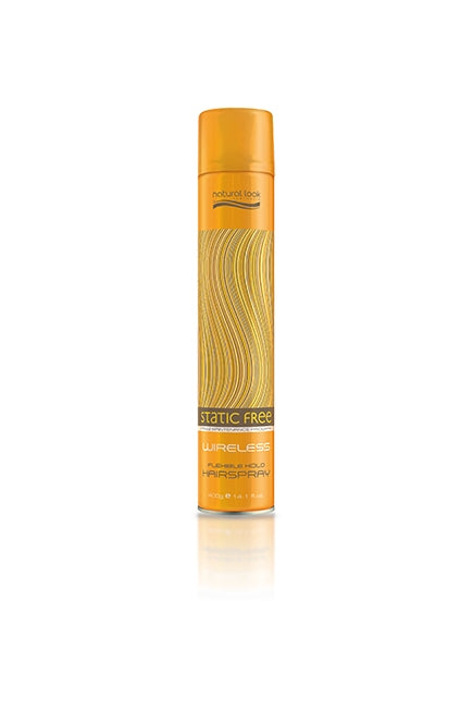 Natural Look Static Free FM Wireless Flexible Hairspray
