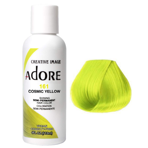 Adore Semi Permanent Hair Colour Cosmic Yellow