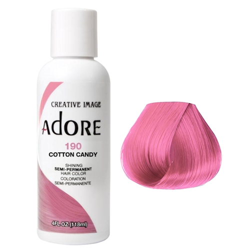 Adore Semi Permanent Hair Colour Cotton Candy