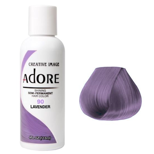Adore Semi Permanent Hair Colour Lavender