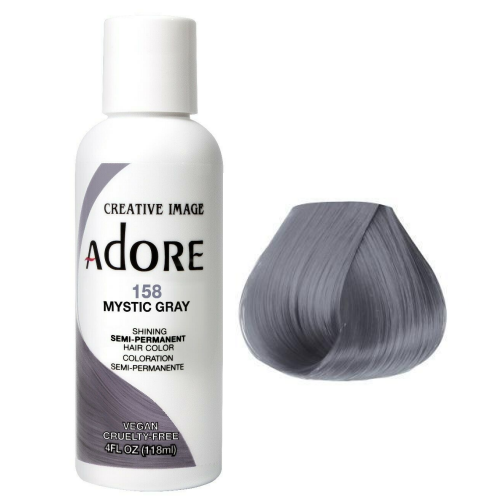 Adore Semi Permanent Hair Colour Mystic Gray