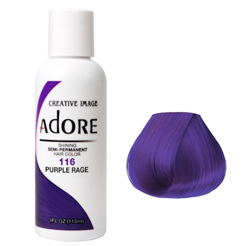 Adore Semi Permanent Hair Colour Purple Rage