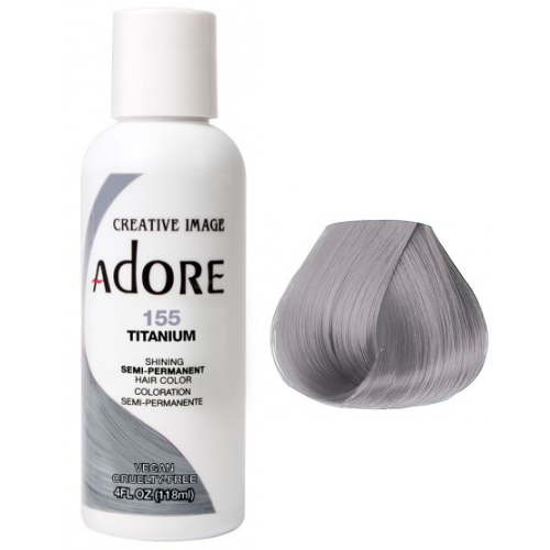 Adore Semi Permanent Hair Colour Titanium