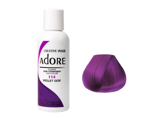 Adore Semi Permanent Hair Colour Violet Gem