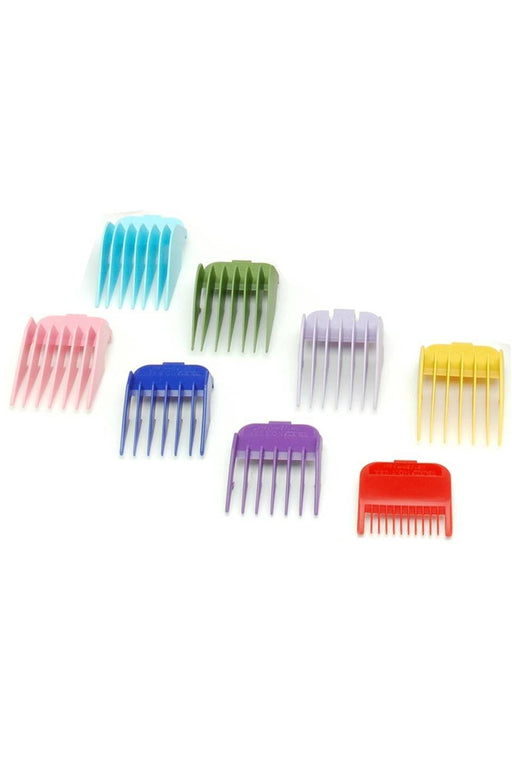 Wahl Coloured Plastic Attachment Combs Caddie