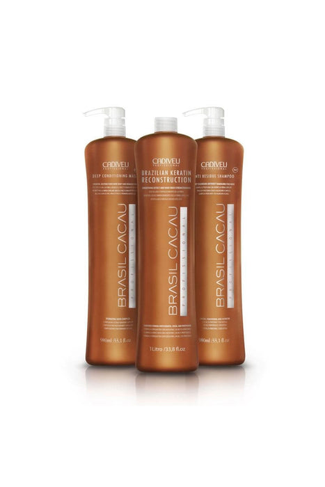 Brasil Cacau ECOKeratin Treatment Kit 3x1Ltr