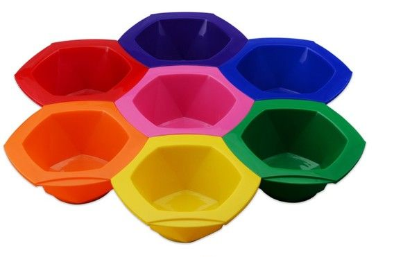 Rainbow 7pc Tint Bowl Set