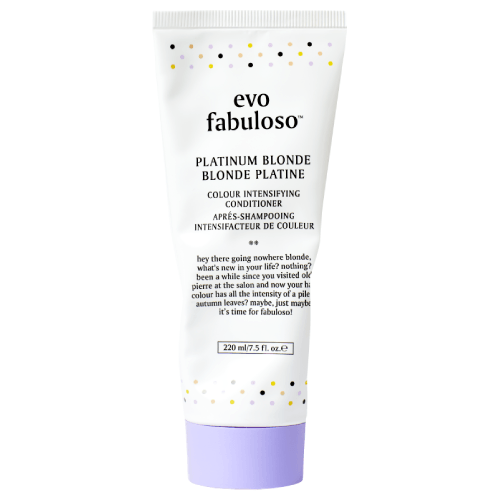 Evo Fabuloso Platinum Blonde Colour Intensifying Conditioner
