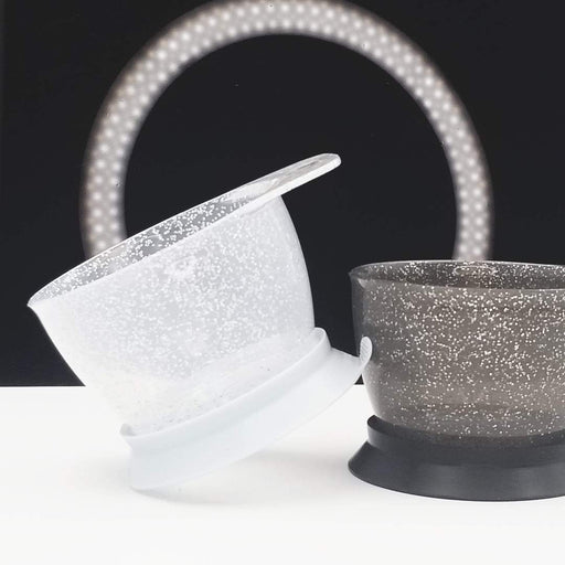 Colortrak Galaxy Glitter Suction Tint Bowls - 2 Pack