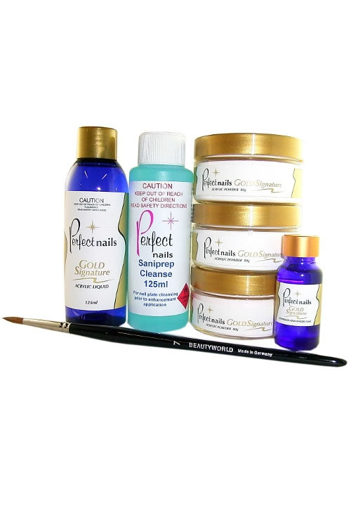 Gold Signature Acrylic Starter Kit #2
