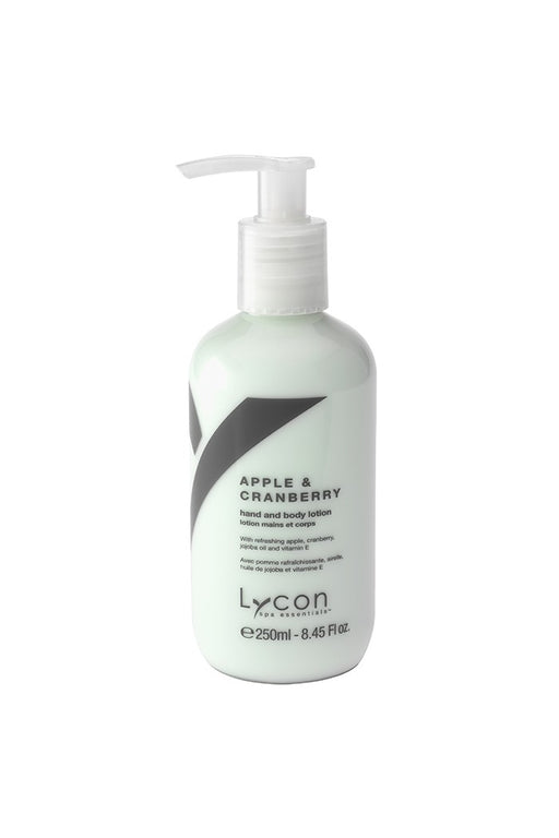 Lycon Apple & Cranberry Hand and Body Lotion