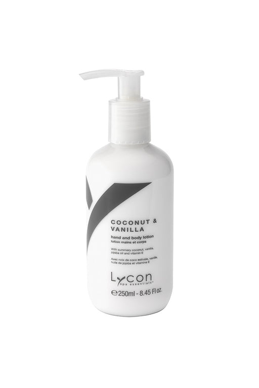 Lycon Coconut & Vanilla Hand and Body Lotion