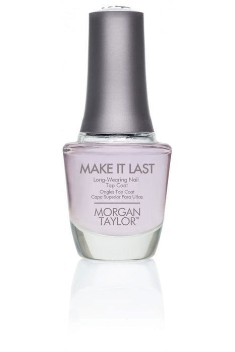 Morgan Taylor Make It Last Long-Wearing Top Coat