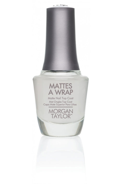 Morgan Taylor Matte's A Wrap Top Coat