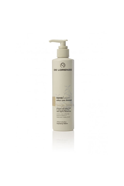 De Lorenzo Novafusion Colour Care Shampoo Beige Blonde