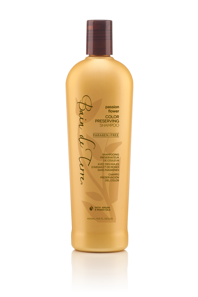 Bain De Terre Passion Flower Color Protecting Shampoo
