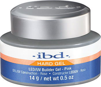 IBD LED/UV Pink Hard Builder Gel
