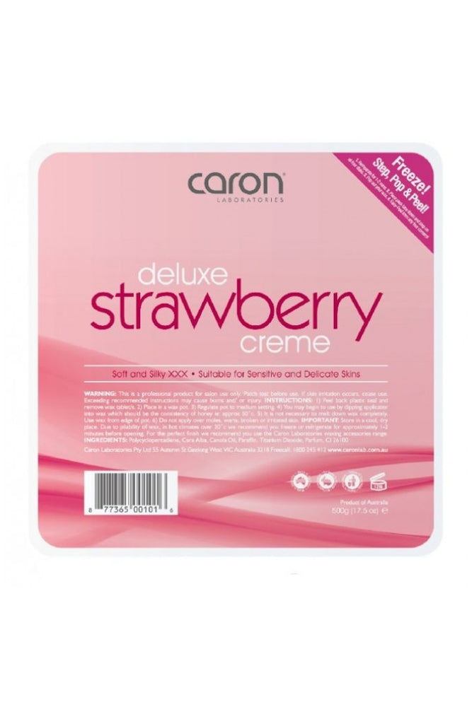 Caron Deluxe Strawberry Creme Hard Wax