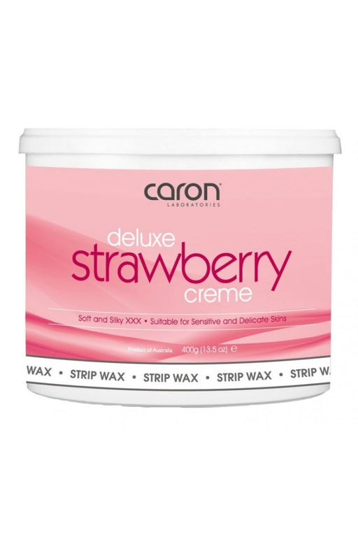 Caron Deluxe Strawberry Creme Strip Wax