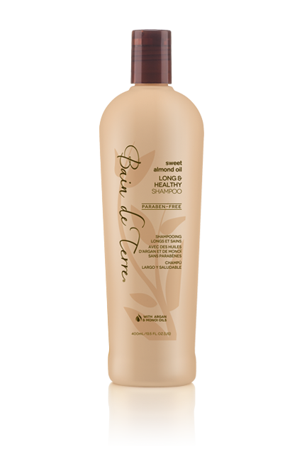 Bain De Terre Sweet Almond Oil Long & Healthy Shampoo