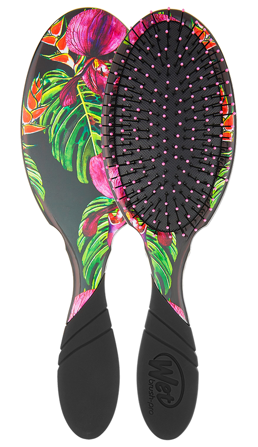 The Wet Brush Pro Detangler Neon Tropics Night