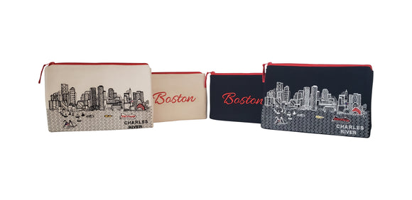 Boston Makeup Bag - Beyond Cushions