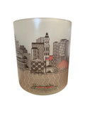 Boston Skyline Glass Votive
