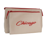 Chicago Makeup Bag - Beyond Cushions