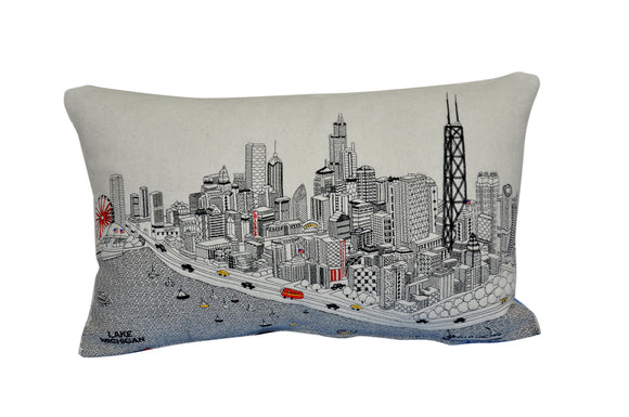 Chicago Pillow - Beyond Cushions