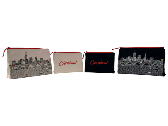 Cleveland Makeup Bag - Beyond Cushions