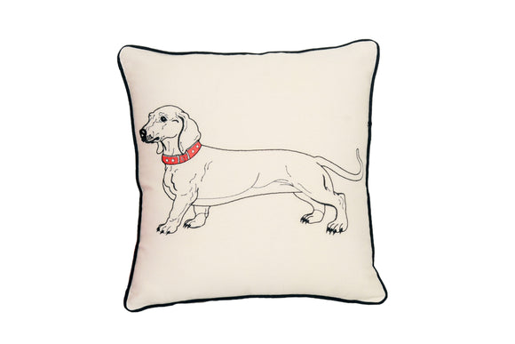 DACSCHUND DOG PILLOW