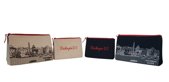 Washington DC Makeup Bag - Beyond Cushions
