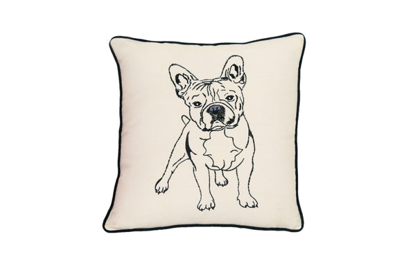 FRENCH BULL DOG PILLOW