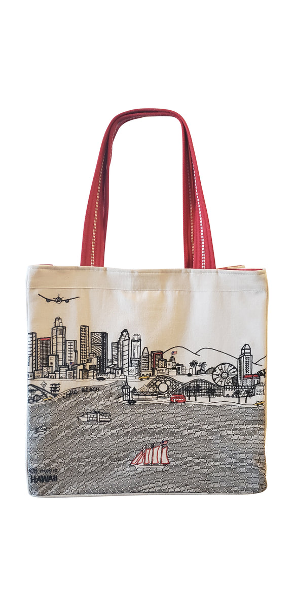 Los Angeles Tote Bag - Beyond Cushions