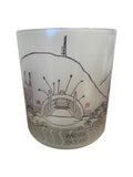 Los Angeles Skyline Glass Votive