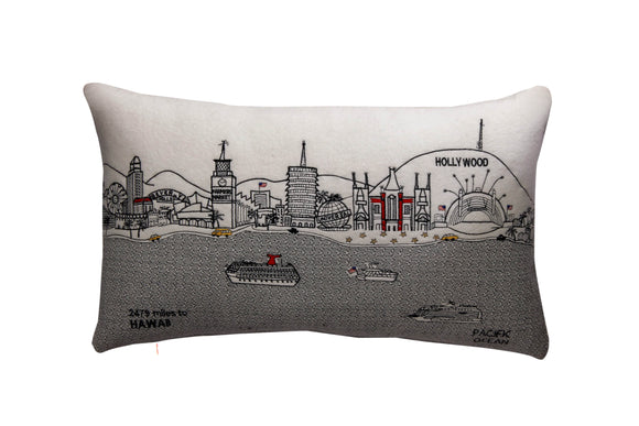 Los Angeles Pillow - Beyond Cushions