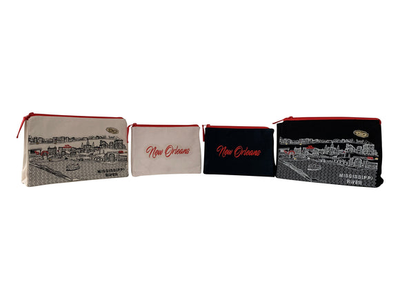 New Orleans Makeup Bag - Beyond Cushions